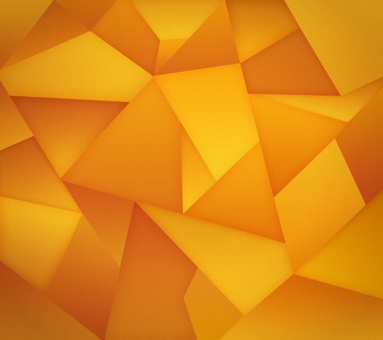 Yellow Nexus Triangles Wallpaper HD