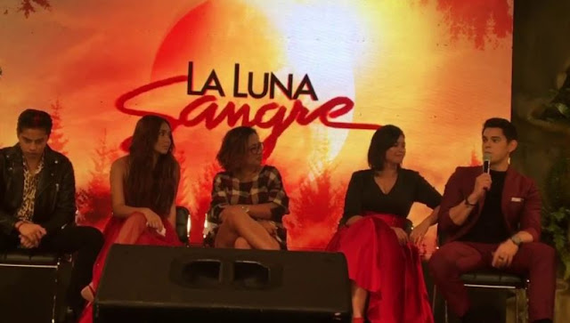 Angel Locsin And Richard Gutierrez Was Seen Sweet Together At The 'La Luna Sangre' Presscon!