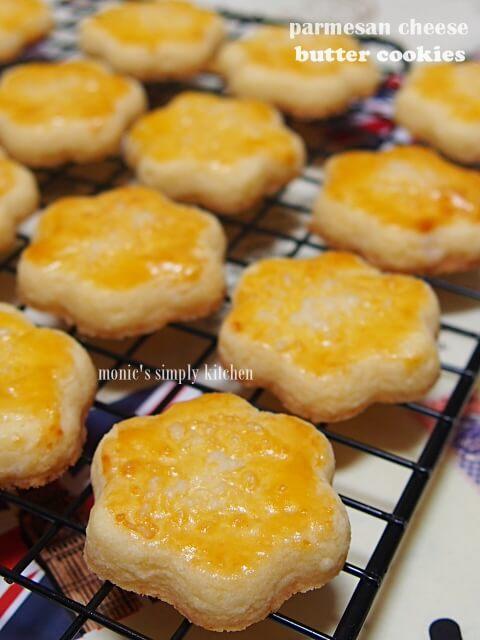 butter cookies parmesan