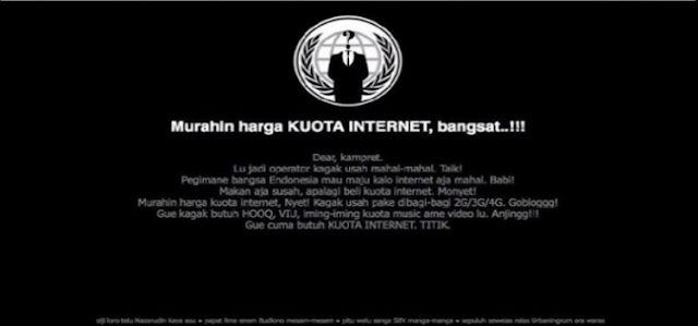Siapa dan Bagaimana Cara Hack Situs Telkomsel