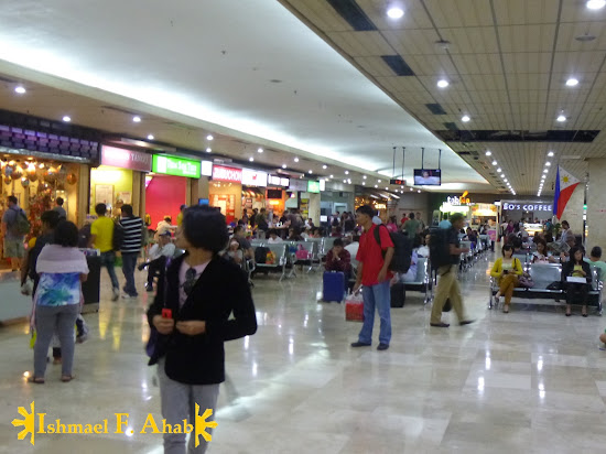 Food court in Mactan Cebu International Airport