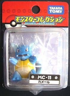Wartortle figure Takara Tomy Monster Collection MC series
