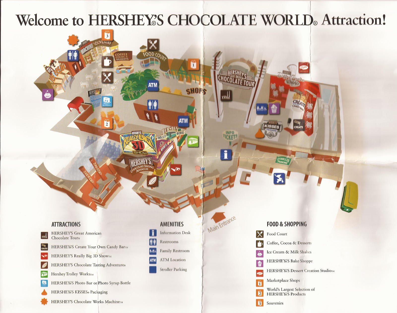 Amusement Authority: Hershey Chocolate Factory Tour Review | 1600 x 1263 jpeg 356kB