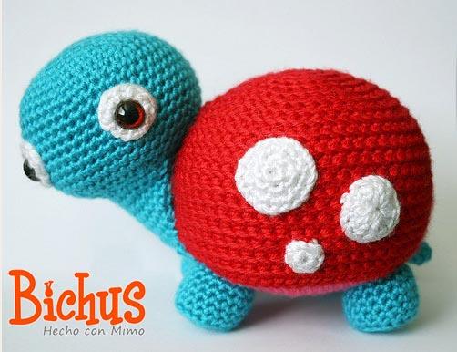 Repeat DIY Tortuga-cesta amigurumi crochet/ganchillo (tutorial) by ... | 386x502