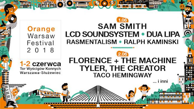 Festiwalowe zapowiedzi: Orange Warsaw Festival 2018!
