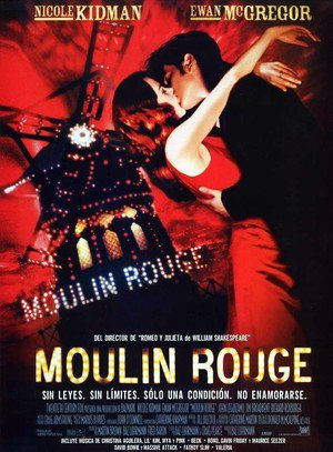 Poster Moulin Rouge! 2001