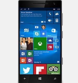 Windows 10 sui telefoni Microsoft Lumia
