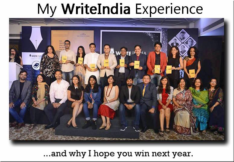On Winning Write India...