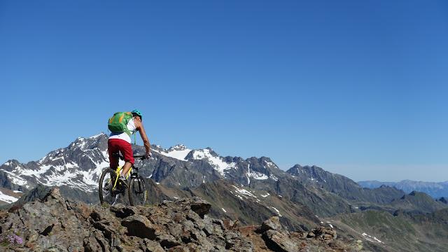 Gondelbahn Sölden Mountainbike Beförderung MTB Gaislachkogel Downhill