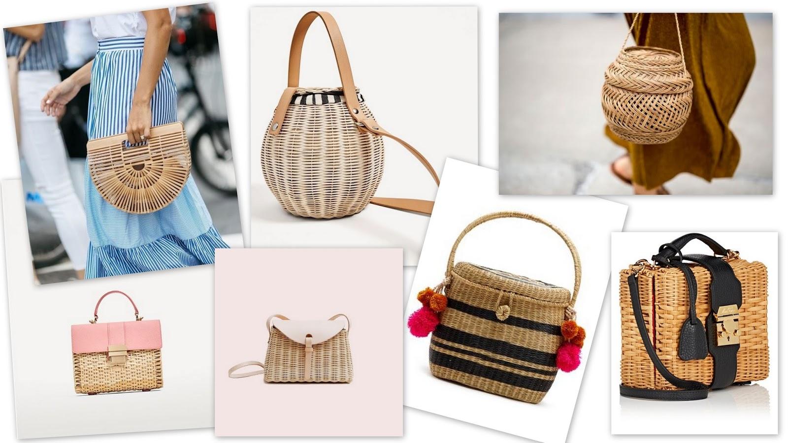 MIX INSPIRACJI #8: Wiklinowe torebki