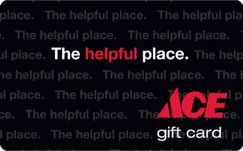 Ace Hardware Gift card Giveaway.