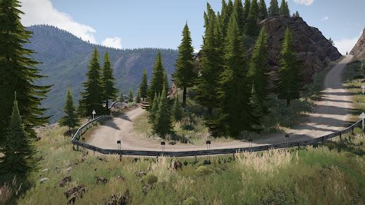 Arma3用山と森のRyderwood IslandマップMOD