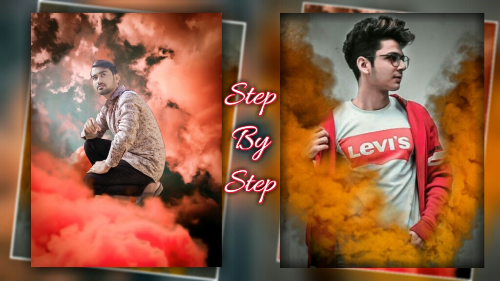 New Smoke Effect PicsArt Editing Tutorial Background And PNG Photo