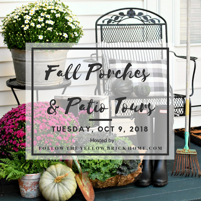 fall porch and patio tours with over 20 bloggers