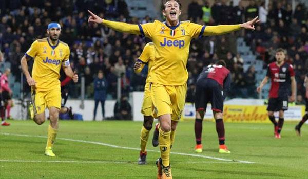 "Video Cagliari – Juventus: ""Vai phụ"" lấn sân ngôi sao"