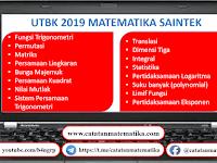Pembahasan UTBK 2019 Matematika Saintek