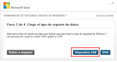 paso 2 Windows 7 USB DVD Download tool
