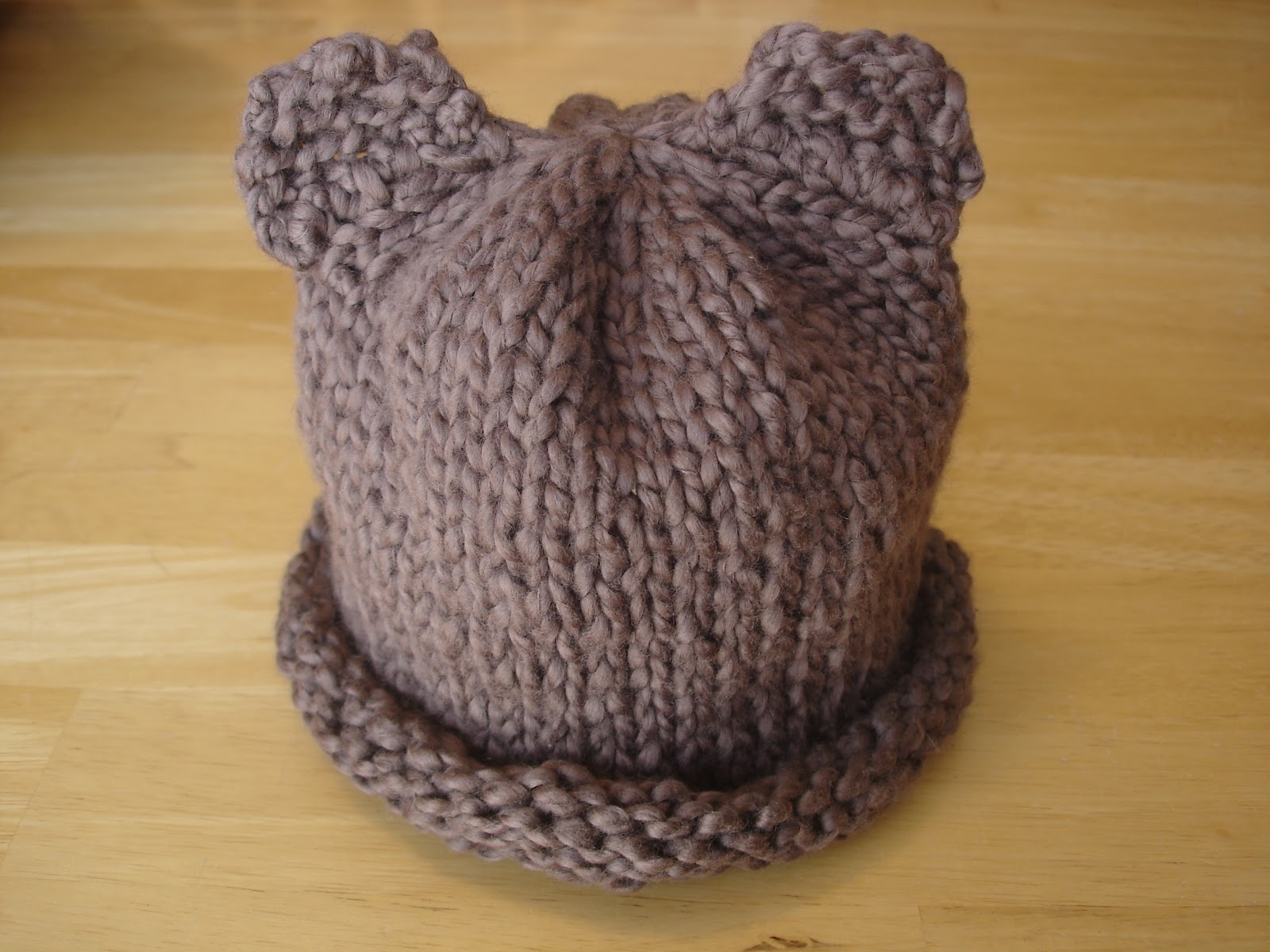 Fiber Flux Free Knitting Pattern Bear Hat For The Rest Of Us