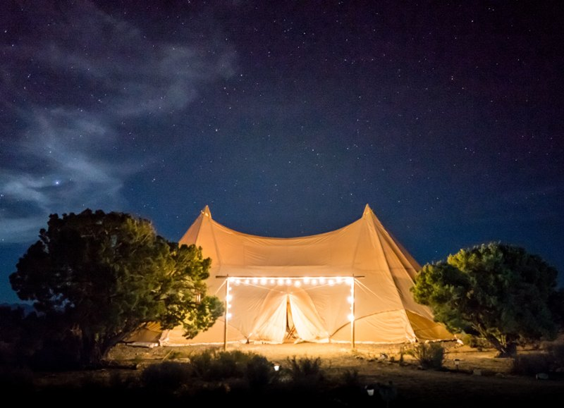 camping tent glamping for luxury travellers