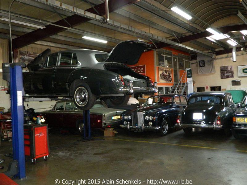 rolls royce bentley garage americo paris argenteuil