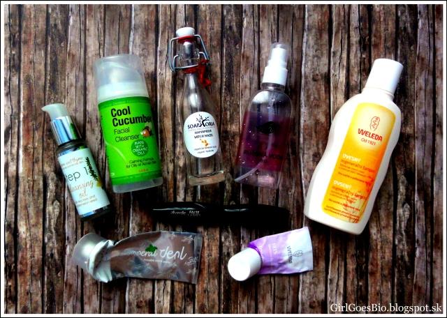 Natural cosmetics Weleda Bubble Bee Organic Lauren Brooke Cosmetiques Dulcia Soaphoria Alverde