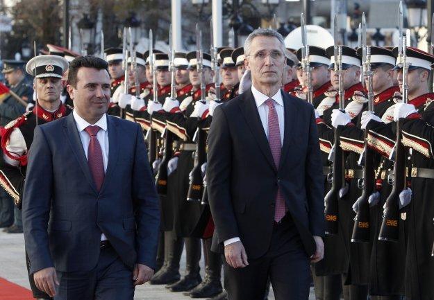 Πρόσκληση του ΝΑΤΟ στα Σκόπια για ενταξιακές συνομιλίες