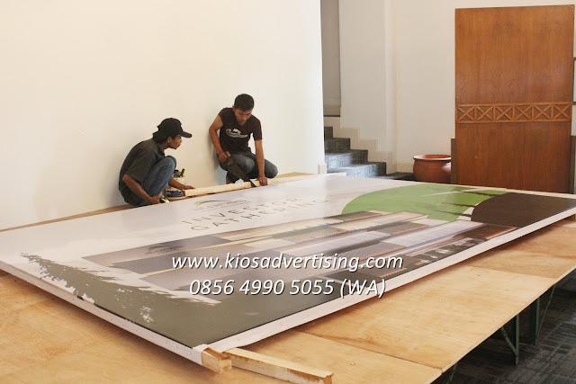 Jasa Pemasangan Backdrop Seminar Gathering Workshop Lomba Konser di Malang