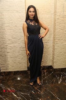 Actress Rakul Preet Singh Stills in Beautiful Blue Long Dress at Dhruva Salute to Audience Event  0093.JPG