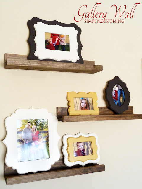 Gallery Wall @SimplyDesigning