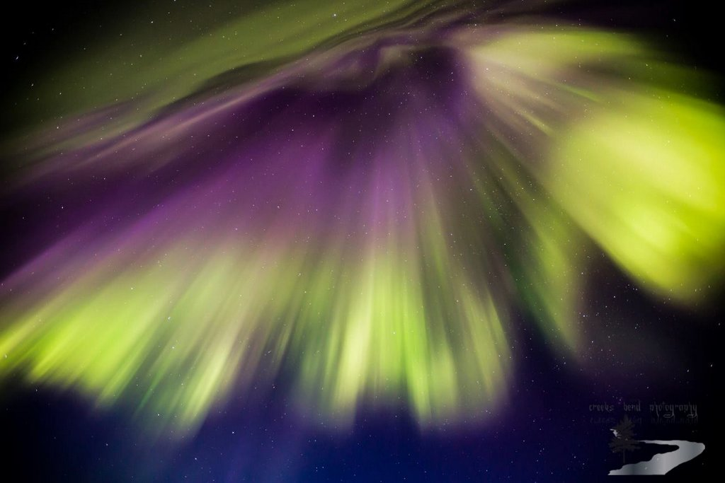 Wonder in our Night Sky in the form of dancing aurora