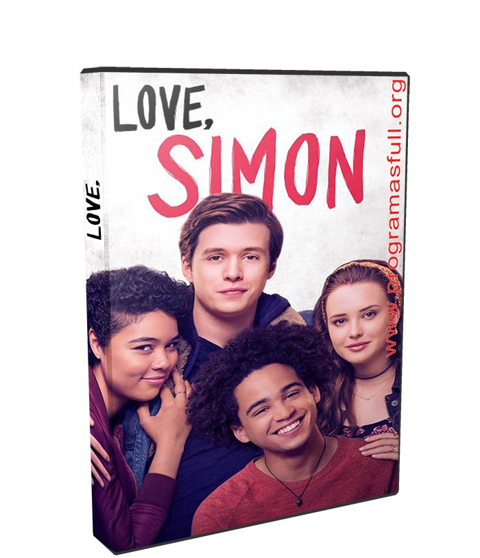 Con amor, Simon poster box cover