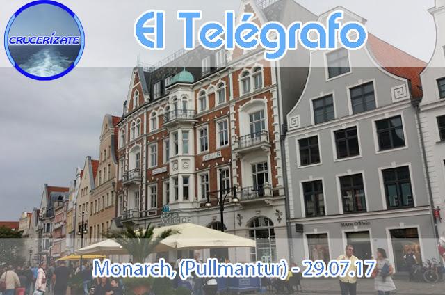 EL TELÉGRAFO - DÍA PRIMERO - ROSTOCK - FIORDOS NORUEGOS