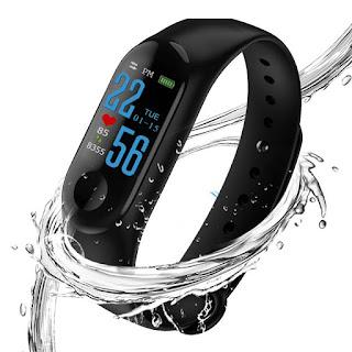 braccialetto smartwatch M3 orologio