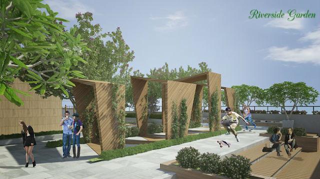 Không gian sống vượt trội tại chung cư Riverside Garden