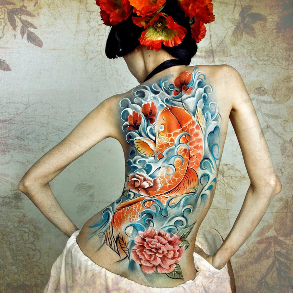 anese tattoo designs for women