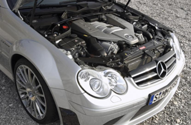 2017 Mercedes CLK 63 AMG Engine