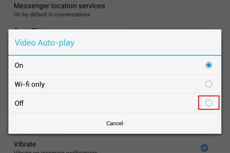 Cara Menonaktifkan Fitur Video Auto-play pada Facebook for Android