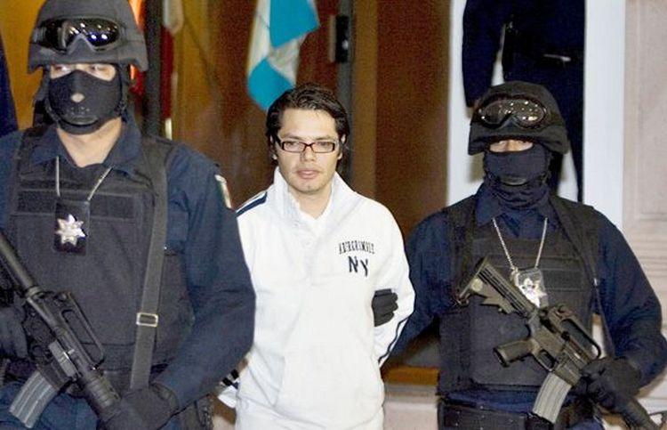 """Vicente Carrillo hijo de """"El señor de los cielos"""" sale de prisión."""
