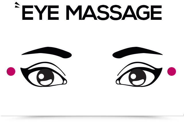 titik pijat mata keempat perhatikan 2 titik akupresor di sudut luar mata
