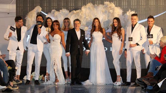 Desfile de Sonrisas con el odontólogo Oscar Barboza en la pasarela de HB Models