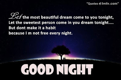 sweet funny good night with message