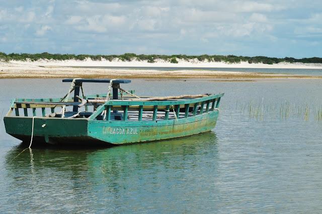 Lagoa Azul, em Jericoacoara