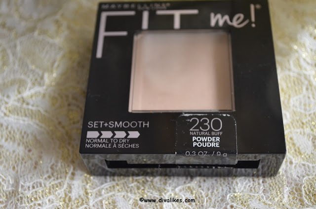 Maybelline Fit Me! Matte + Poreless Powder 230 Natural Buff
