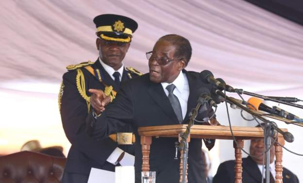 American 'charged with insulting Mugabe'