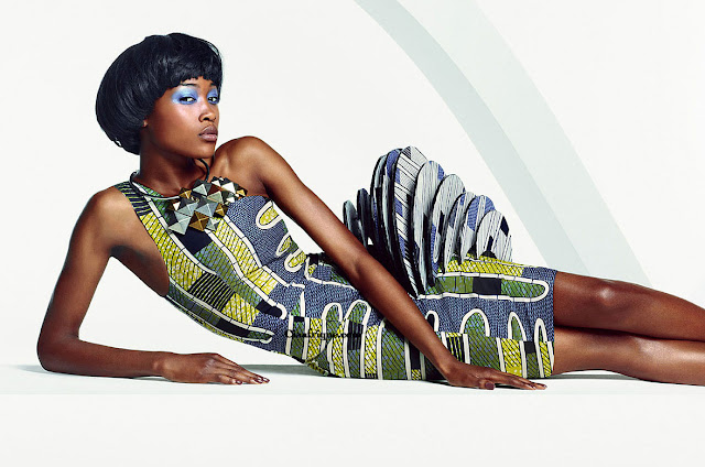 african dresses nigeria -Vlisco campaign: Parade of Charm -modele de pagne africain