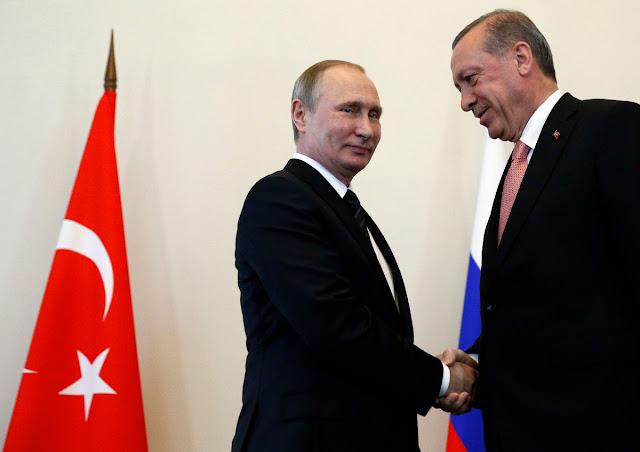 """Το αμοιβαίο συμφέρον διατηρεί τις """"καλές σχέσεις"""" Ρωσίας - Τουρκίας"""