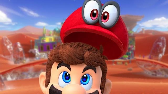 لعبة Super Mario Odyssey تسجل 2 مليون نسخة مباعة في ظرف ثلاث أيام فقط