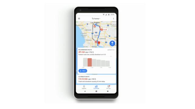 ভারতে Google মানচিত্র অফ-রুট সতর্কতা ফিচার পেতে
