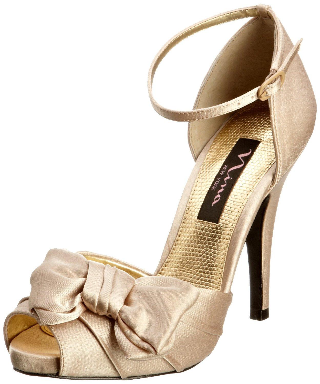 Bridal, prom, special occasion platform pump heels shoe