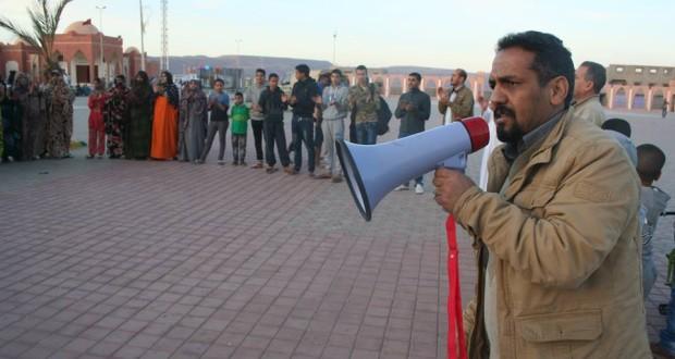 الاحتلال يمنع من جديد المدافع الصحراوي عن حقوق الانسان اعلي سالم التامك من اكمال دراسته الجامعية